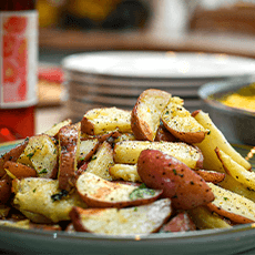 Bed and Breakfast Potatoes